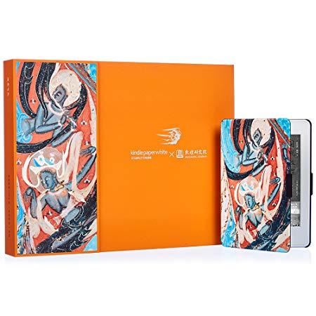 Kindle Paperwhite X Dunhuang Viện nghiên cứu doanh hộp quà tặng (bao gồm cả Kindle Paperwhite e-book