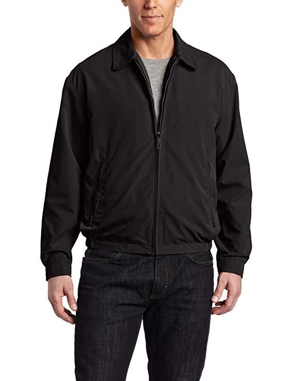 London áo khoác nam Zip trước của Golf áo khoác