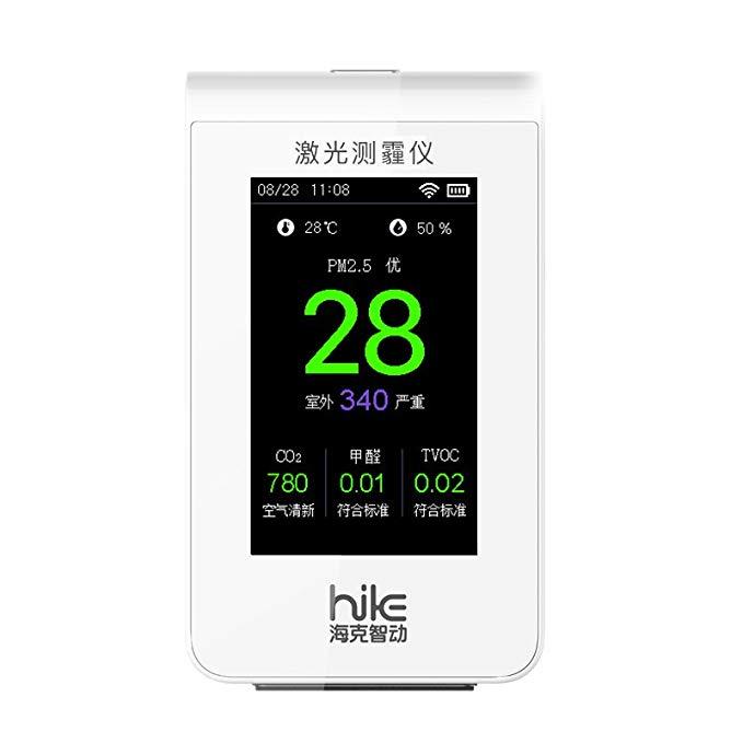 Heck Smart B6A Màn hình chất lượng không khí nổi bật nhất Máy dò formaldehyde hộ gia đình PM2.5 TVOC