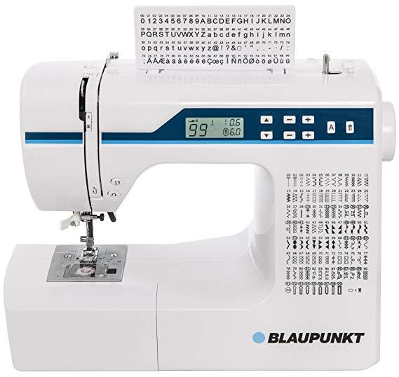 BLAUPUNKT Comfort 930 điện tử miễn phí cánh tay máy may với 200 mẫu khâu