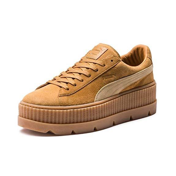 Giày Thể Thao Kiểu đế xuồng thấp Hiệu : PUMA  Golden Brown-Lark 9