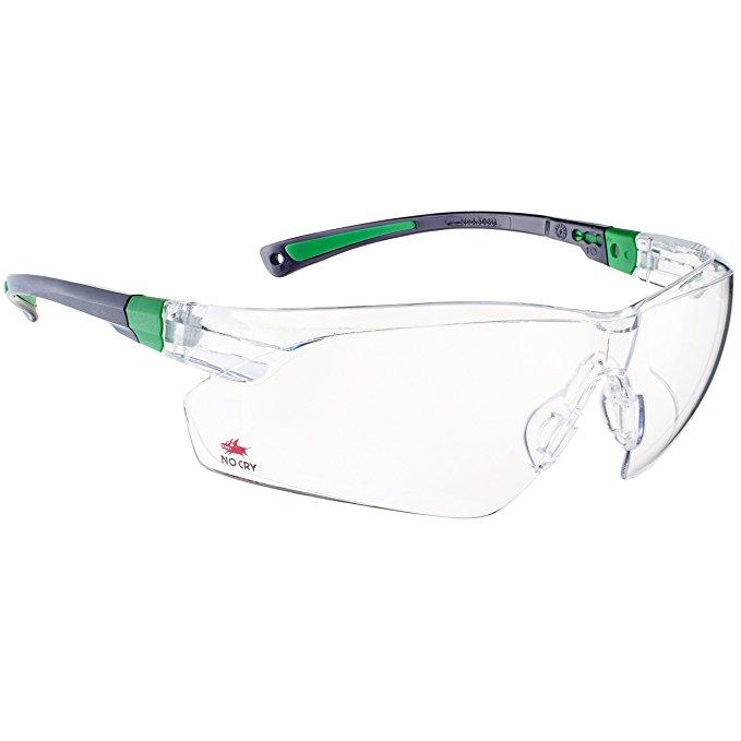 Kính NoCry *, ống kính có lớp phủ chống sương mù và chống trầy xước trong suốt và tay cầm chống trượ