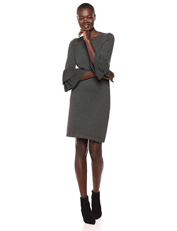 Chín tay áo của phụ nữ Tây áo len ruffle