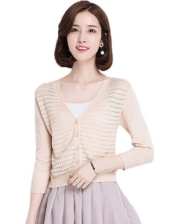 Áo khoác kiểu cardigan vải mỏng , phù hợp cho mùa hè , Thương hiệu: Aecsoc.