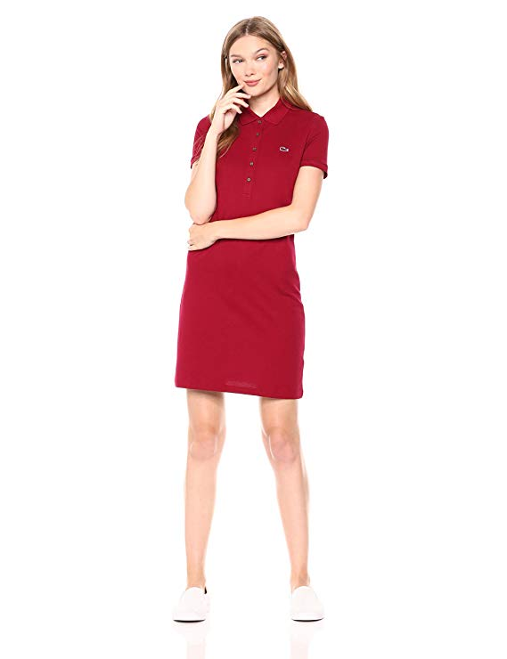 Đầm Thun Lacoste ngắn tay Kiểu Mini Piqué Polo Dress.