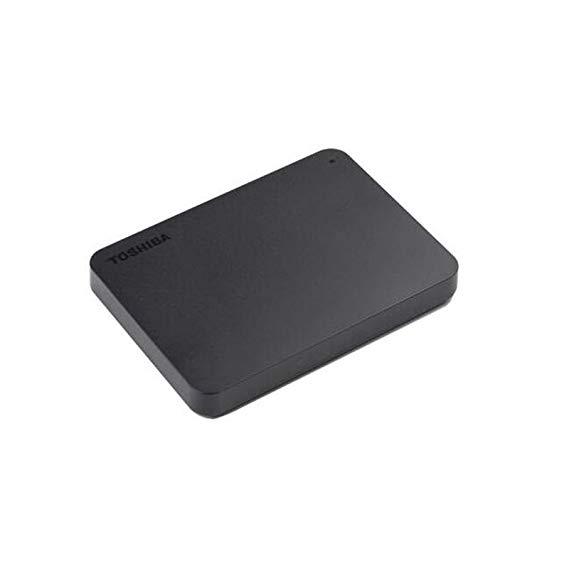 Toshiba (TOSHIBA) mới nhỏ màu đen A3 series 2 TB 2.5-inch USB3.0 di động đĩa cứng matte đen