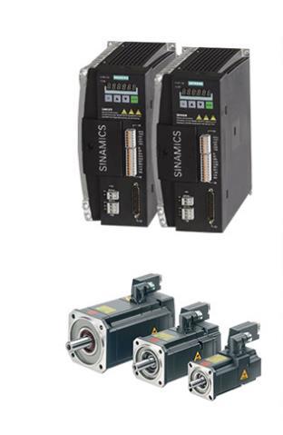 Hệ thống servo SINAMICS Siemens V90 thể thao kiểm soát hiệu quả.