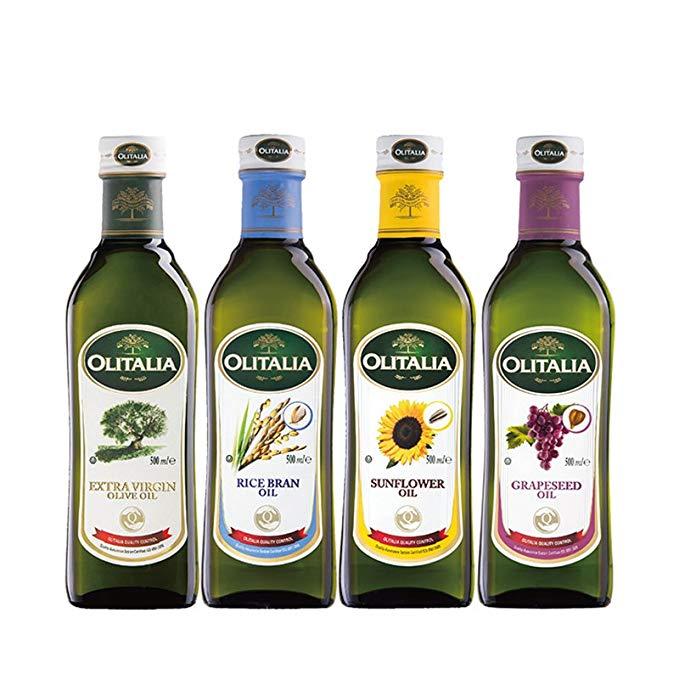 Hộp quà tặng dầu gia đình hỗn hợp Olitalia O'Neal 500ml * 4 (Nhập khẩu Ý)