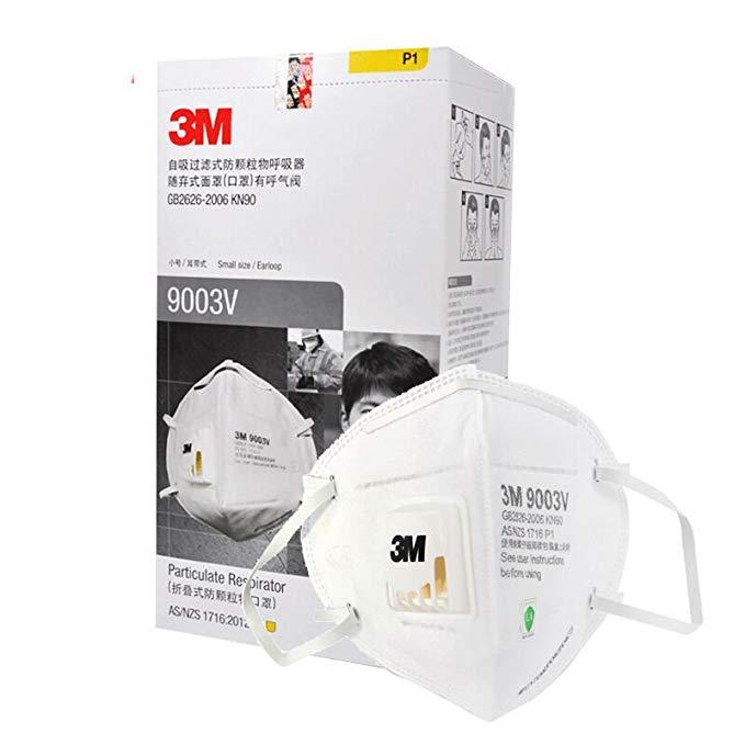 3M 9003V hơi hữu cơ Mùi và Particulate vấn đề / trẻ em / mặt nạ mặt nạ trẻ em 25 gói chống bụi / chố