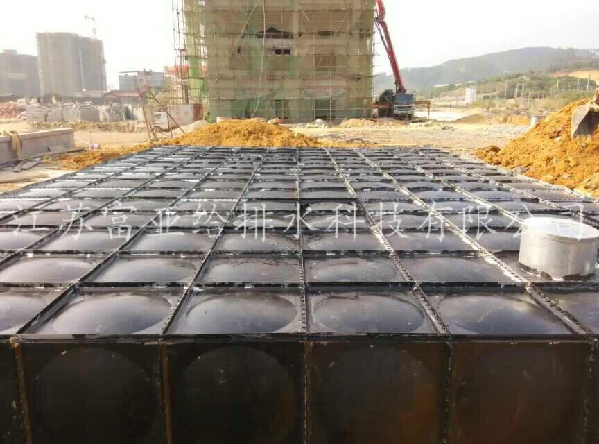 High quality Yancheng buried fire pump box integration room, buried fire box pump integrated factory
