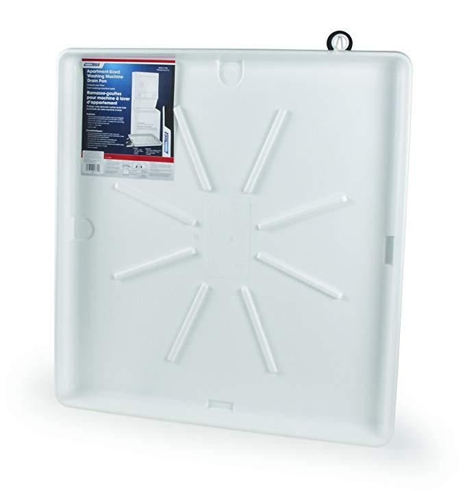 Camco 20751 81.28cm OD x 76.20cm Máy giặt thoát nước Pan Phụ kiện, 76.20cm x 81.28cm, trắng trắng tr