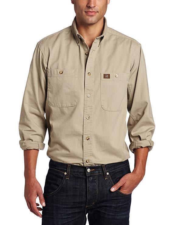 Wrangler RIGGS WORKSEAR Wrangler áo sơ mi nam của người đàn ông
