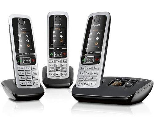 Gigaset điện thoại không dây Thông tin là đơn giản hơn C430A Trio schwarz C430A Trio