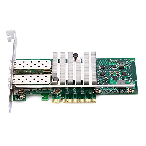 Dell / DELL Intel Intel X520-SR2 82599ES thẻ mạng 10G sợi quang mạng 10G