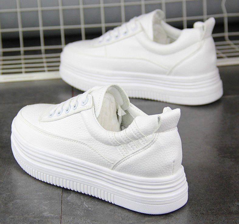 Giày Sneakers Thể Thao màu Trắng  , Thương Hiệu : zdj