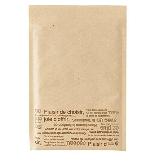 Túi chuyển phát nhanh với vật liệu đệm với băng Cafe Nhỏ (10) CAF-TBP3