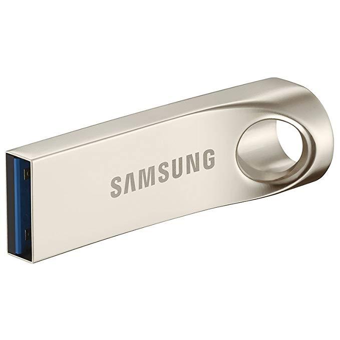 Samsung (SAMSUNG) Thanh 64GB USB3.0 U đĩa đọc 130M / s kim loại bạc