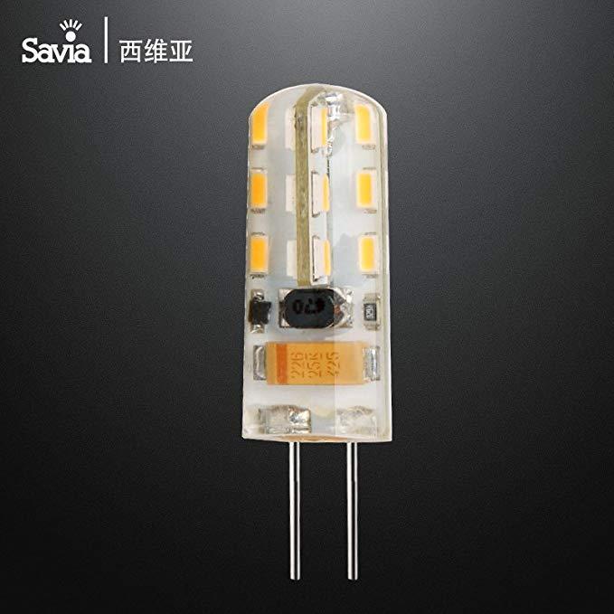 Savia LED hạt đèn G4 led hạt đèn 1.5 Wát pin bóng đèn nhỏ công suất Cao sáng led hạt đèn 12 v khác ấ