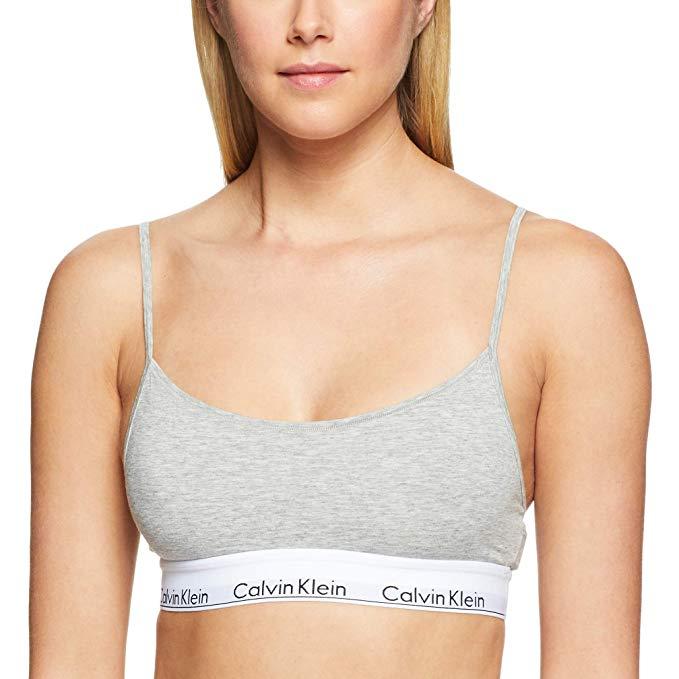 Đồ lót Áo ngực liền mạch của Calvin Klein .