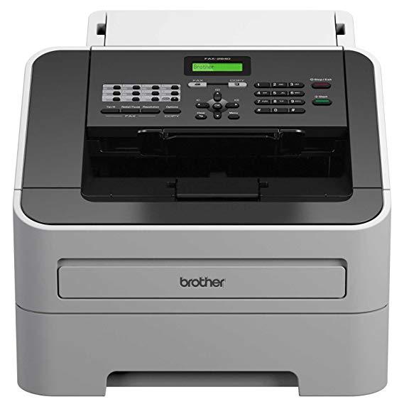Máy fax laser trắng đen tốc độ cao fax-2840 của Anh