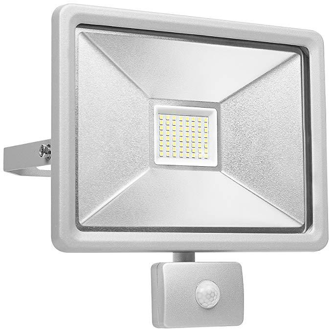Đèn pha 10.047.00 (SL1 - dob50) A +, đèn LED - *, 50 W, nhôm, trắng, 27 x 12,62 X 28,15