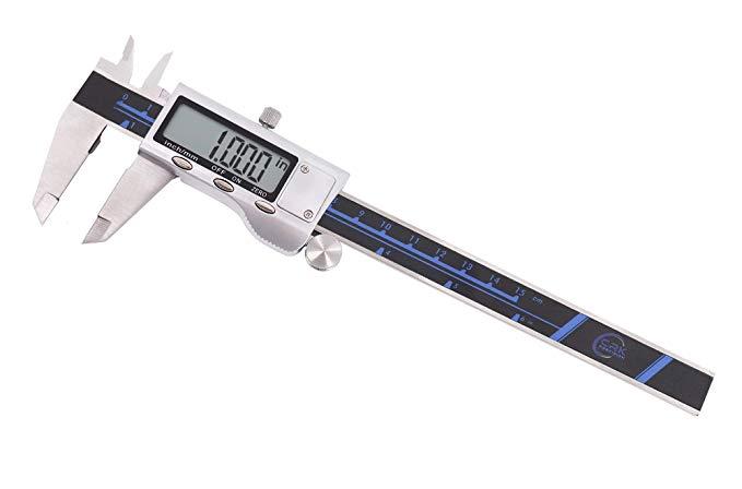 Calipers kỹ thuật số 'Äù 0-15.24 cm thép không gỉ điện tử calipers kỹ thuật số' Äù Tiêu chuẩn tiếng