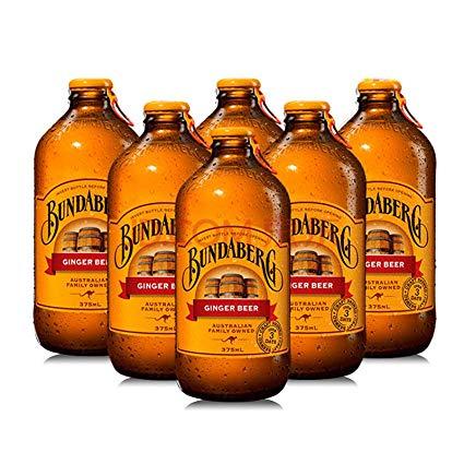 Aussie Pentax Po không chứa gừng không cồn Rượu gừng không cồn Bia làm thủ công 6 chai (375ml * 6)