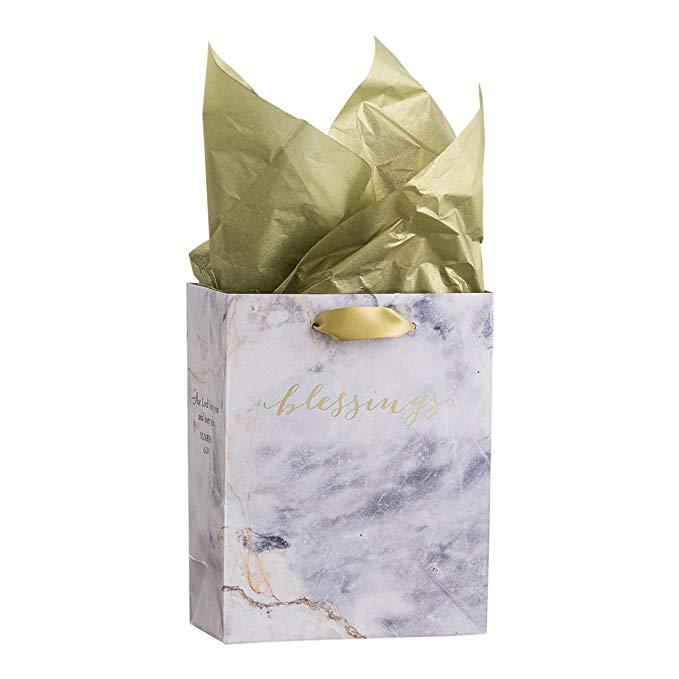 Túi quà nhỏ chuyên nghiệp DaySpring - Hạnh phúc quý giá - Dòng vĩnh cửu (71405)