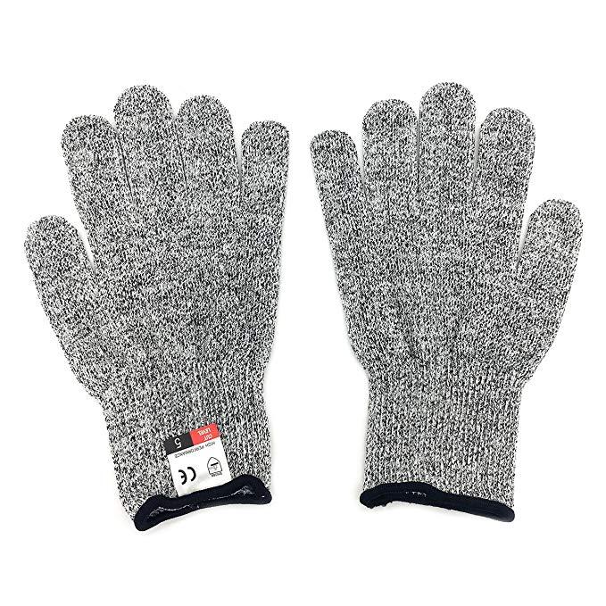 Silfrae Lớp 5 Găng tay chống cắt Hiệu suất cao Găng tay chống cắt 1 Cặp