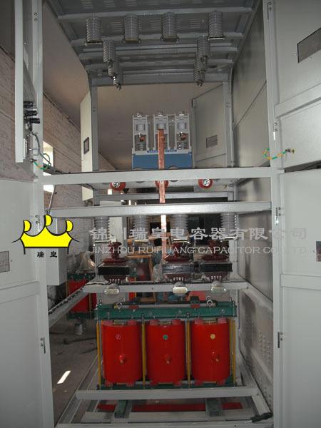 Nhà sản xuất ray Hoàng cao áp VAR tự bồi thường GGZB-10-600
