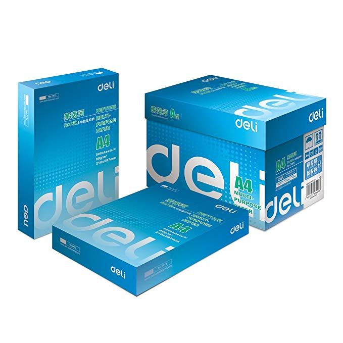 DeLi Deli 7401 Rhine gỗ nguyên chất bột giấy đa chức năng bản sao giấy (70 gam / A4 5 túi / hộp)