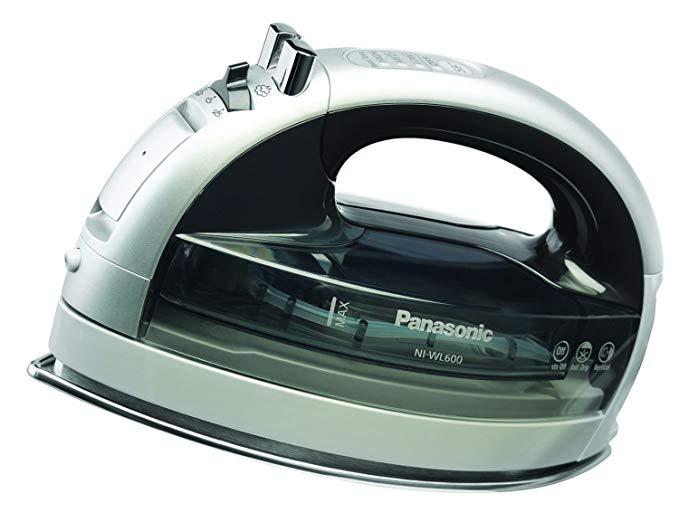 Panasonic ni-wl600 không dây lpl05 Sparex1 sắt, thép không gỉ GC 012/00 nhà, bạc / đen