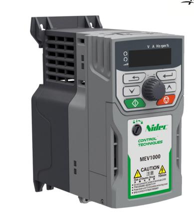 Nideko / Emerson biến tần MEV1000-40007-000 ba pha 380V 0.75kw một năm bảo hành