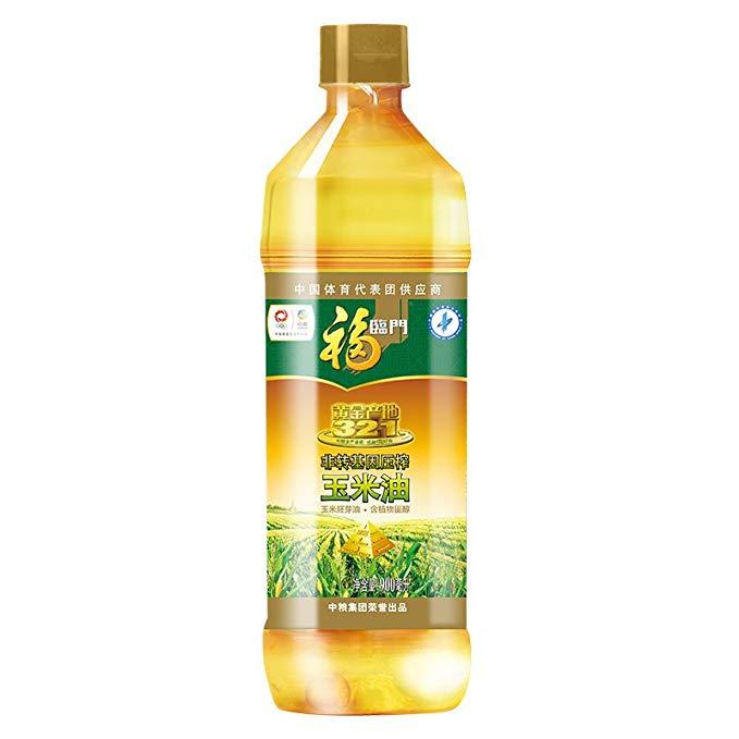 Fulinmen Non-GMO ép vàng nguồn gốc ngô dầu ngô mầm dầu phong phú trong phytosterols (900ml lọ)