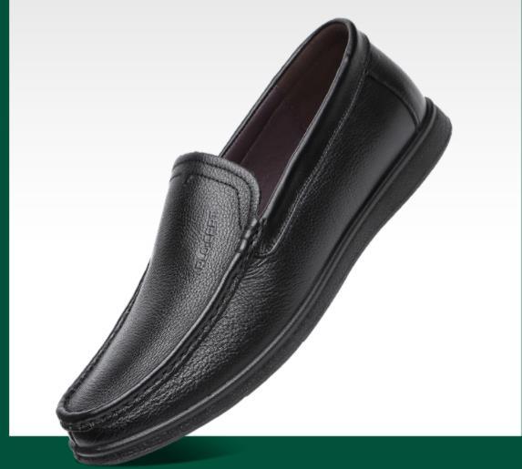 Giày Mọi Da Mềm mại và nhẹ nhàng , Giày nam Thương hiệu: PLO·CART