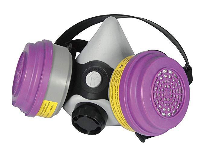 SAS * 3661-50 Bảo trì thấp đa mục đích nửa mặt nạ *, trung bình
