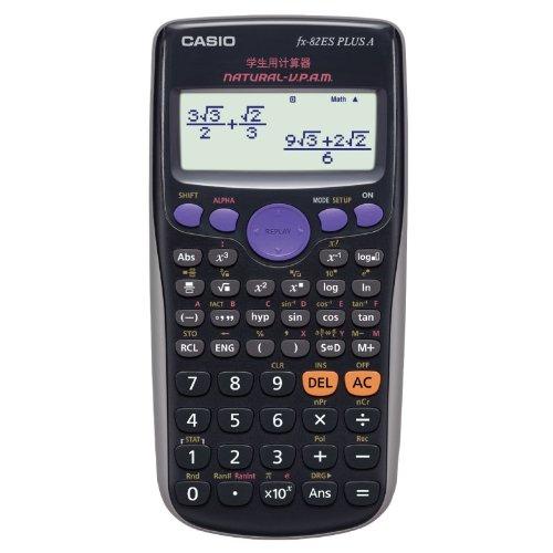 CASIO Casio FX-82ES PLUS Máy tính thông minh màu đen