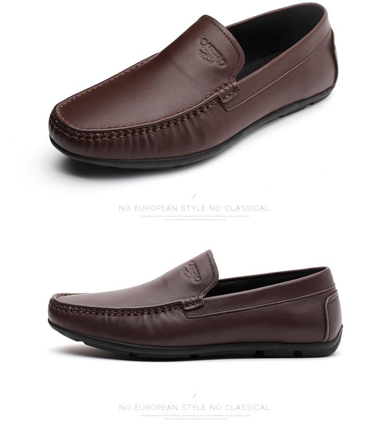 Giày mọi Gommino Bằng Da mềm dành cho nam , Thương hiệu: CARTELO .