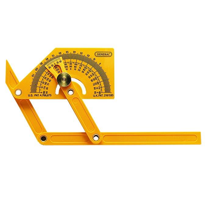Công cụ chung 29 thước đo góc bằng nhựa và công cụ tìm góc với vũ khí khớp nối