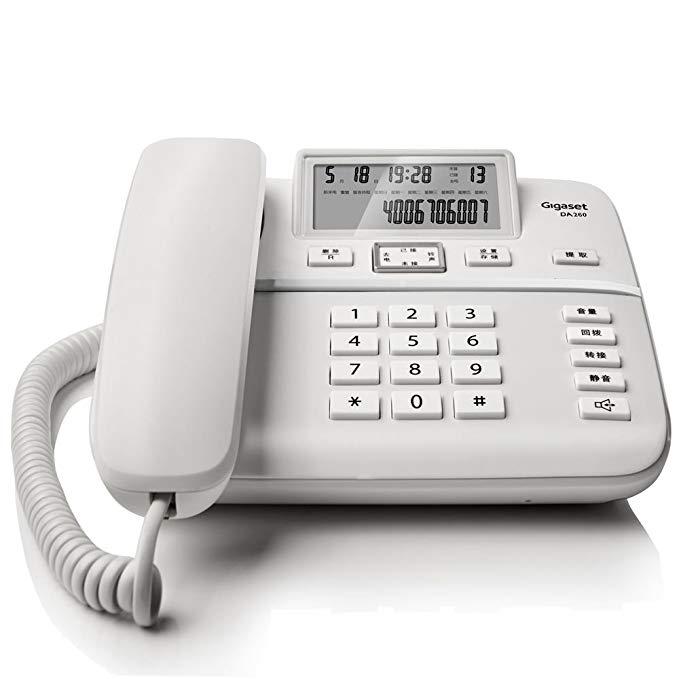 Bộ sưu tập Gigaset Yi Jia Original Siemens điện thoại DA260 điện thoại văn phòng nhà cố định với dây