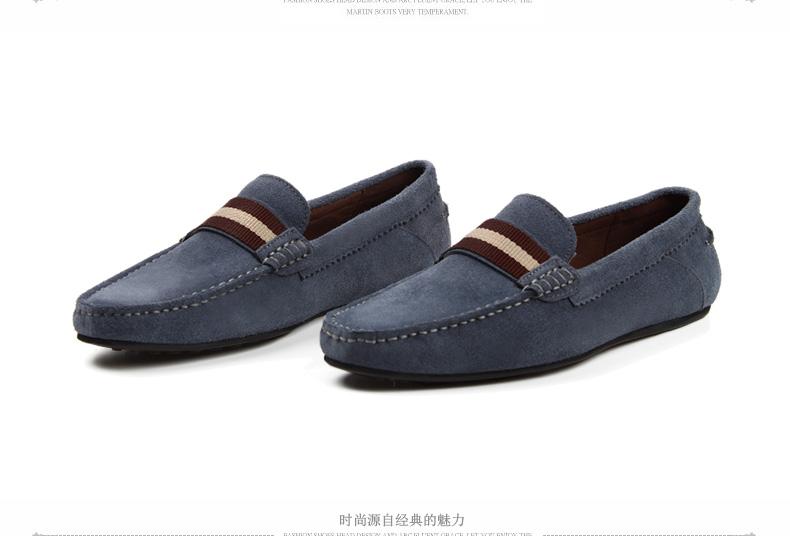 Giày mọi Gommino Bằng Da mềm dành cho nam , Hiệu : C · G · N · P / Village da bò