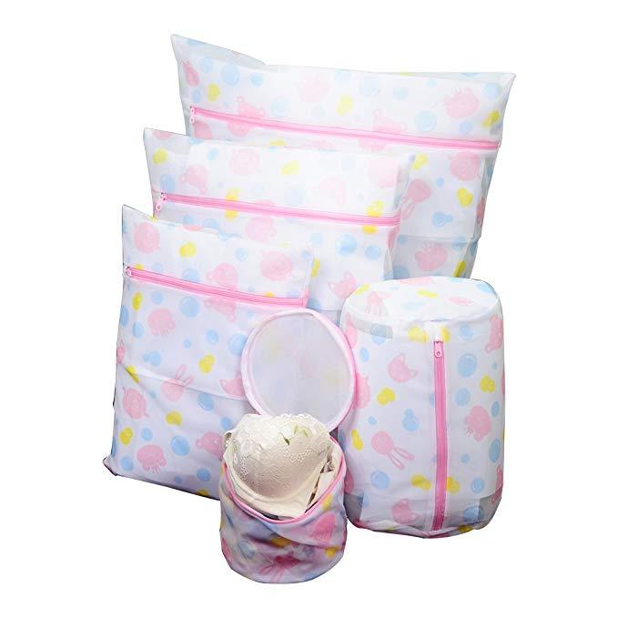 Bao Youni Túi Giặt Fine Net Set Set Rửa Túi Lưới Máy Giặt Chuyên Dụng Đồ Lót Áo Ngực Túi Túi Giặt DQ