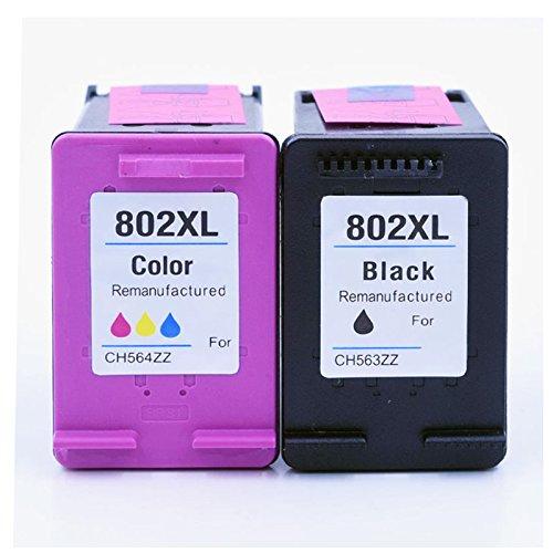 Rongmei Áp dụng cho hộp mực HP802 Hộp mực đen + (hộp mực HP 802 cho máy in HP 1000 1050 2000 2050 HP