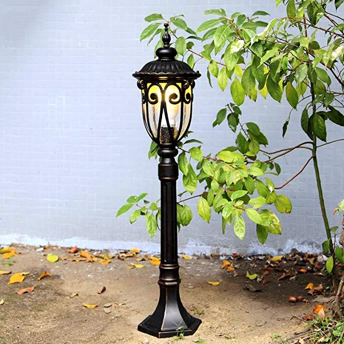 Châu âu ngoài trời đèn bãi cỏ dày không thấm nước chống gỉ bãi cỏ đèn cảnh vườn đèn lối đi đèn bãi c