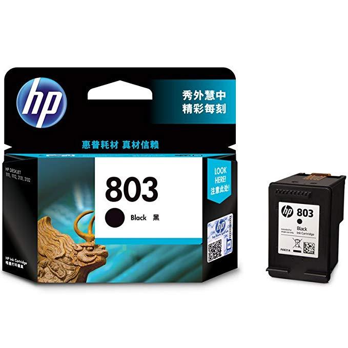 Hộp mực in HP HP F6V21AA 803 (dành cho HP Deskjet 1112 2132 1111 2131)