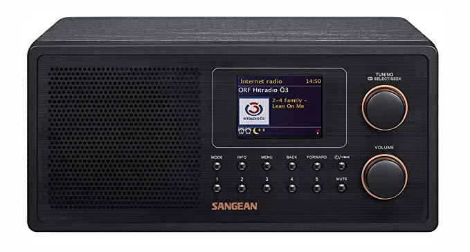 Sangean Mountain vào WFR-30 Internet Radio (máy nghe nhạc mạng, WiFi, DAB +, máy nghe nhạc Spotify,