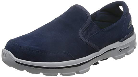 Giày Lười Da đế mềm cho Nam ,Hiệu : Skechers  GO WALK 3 Series
