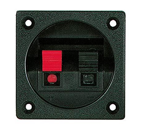 Thiết bị đầu cuối kết nối loa Velleman LSC2, cấp 1 đến 12, cao 5,59 cm, dài 5,59 cm, vuông