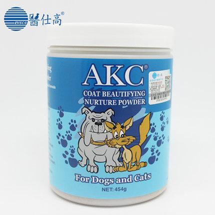 Y tế Shigao AKC Dinh Dưỡng Làm Đẹp Tóc Bột Pet Cát Dog Rong Biển Bột Vẻ Đẹp Tăng Cường Tóc 454 gaG