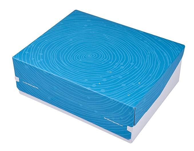 ColomPac CP068.96 / 01.010 Thùng carton nhỏ xinh xắn, 363 x 290 x 125 mm, màu ngọc lam
